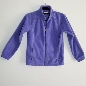 Columbia girls jacket lavender size large